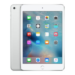 Apple iPad mini 4 Wi-Fi + Cellular 128GB Tablet PC, Silver