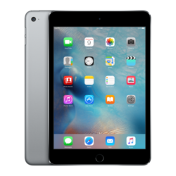 Apple iPad mini 4 Wi-Fi + Cellular 128GB Tablet PC, Space Gray
