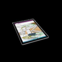"Microsoft Surface Pro 4 - 12.3"" (2736 x 1824) - Core M (HD 515) - 4 GB RAM - 128 GB SSD - No Pen - Windows 10 Pro Eng"