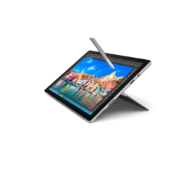 """Microsoft Surface Pro 4 - 12.3"""" (2736 x 1824) - Core M (HD 515 Graphics) - 4 GB RAM - 128 GB SSD Windows 10 Pro Eng"""